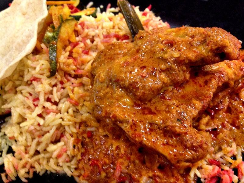 Nasi Padang - Food Junction - Bugis Junction Singapore