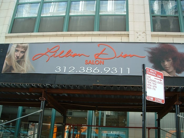 Outside of lillian dion 39 s salon yelp for Dion hair salon