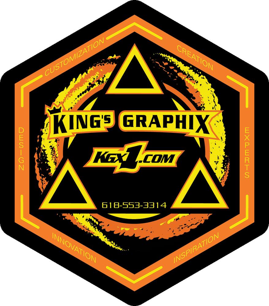 King's GraphiX: 15772 E 1000th Ave, Newton, IL