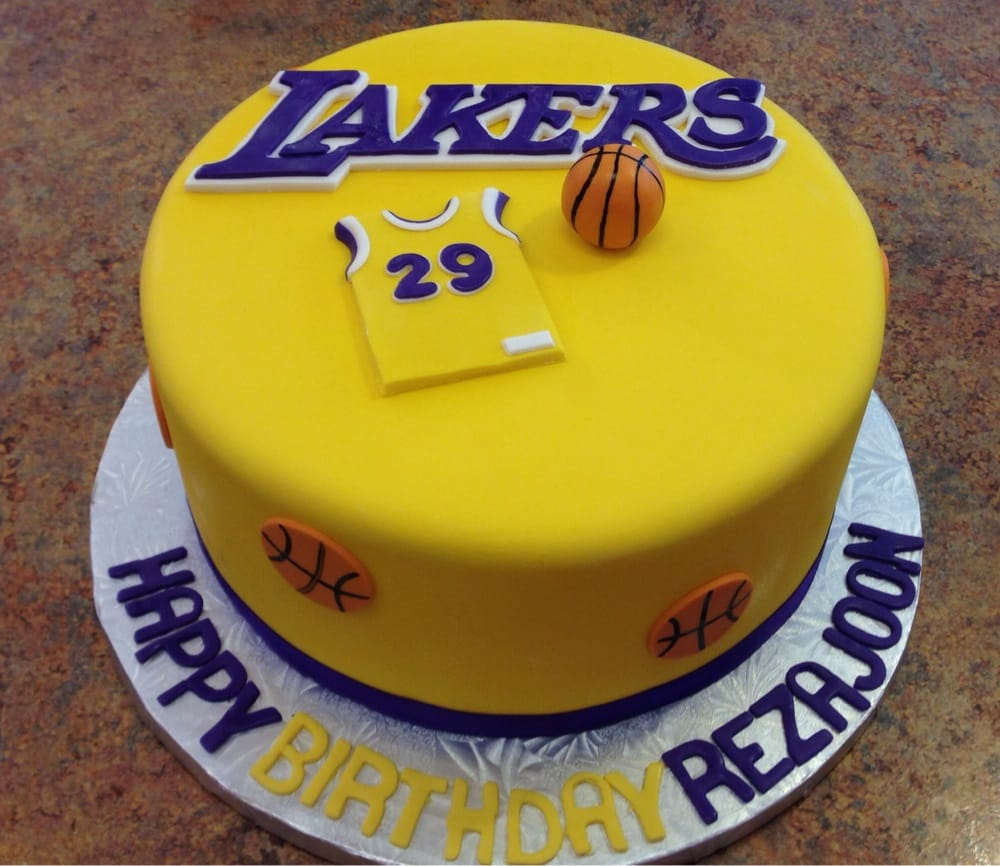 Lakers Cake Yelp