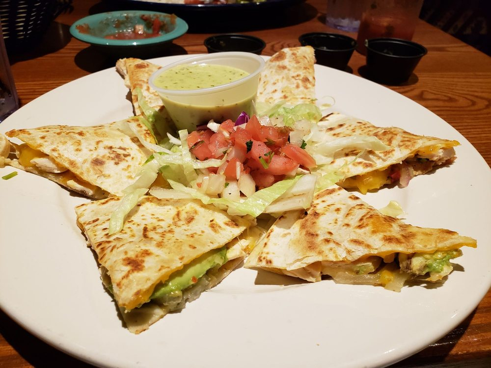 Food from Ocho Cafe