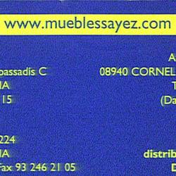 Muebles sayez m belbutikker carrer dos de maig 222 for Muebles sayez barcelona