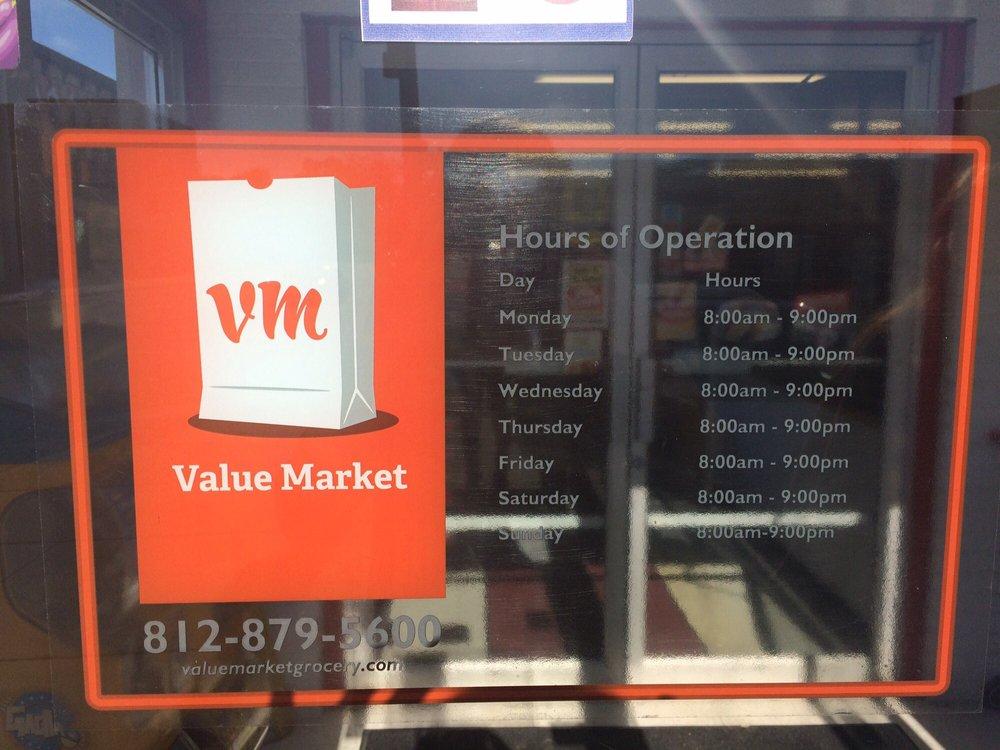 Value Market: 118 W Main St, Gosport, IN