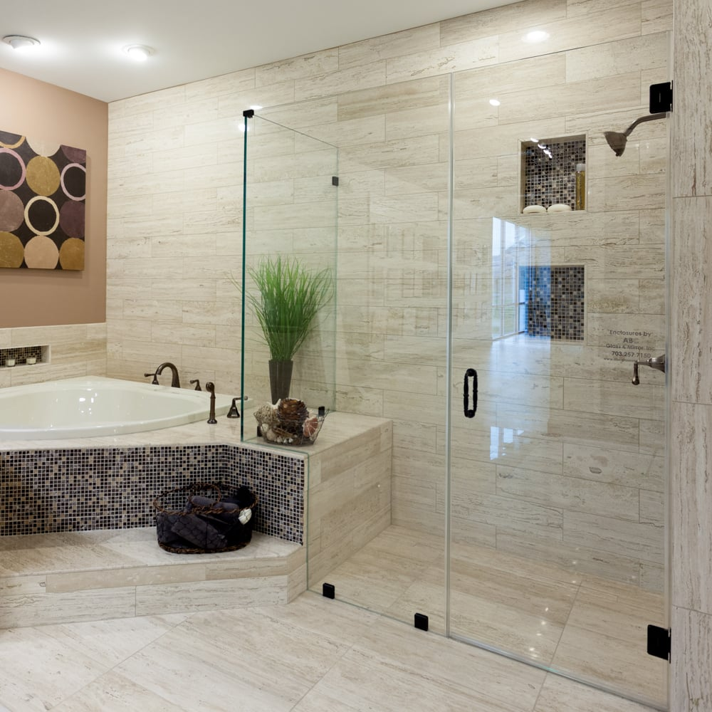 Frameless Glass Shower Doors Make Any Northern Virginia