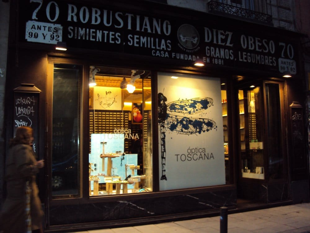 Ptica toscana ottici calle de hortaleza 70 chueca - Optica toscana madrid ...