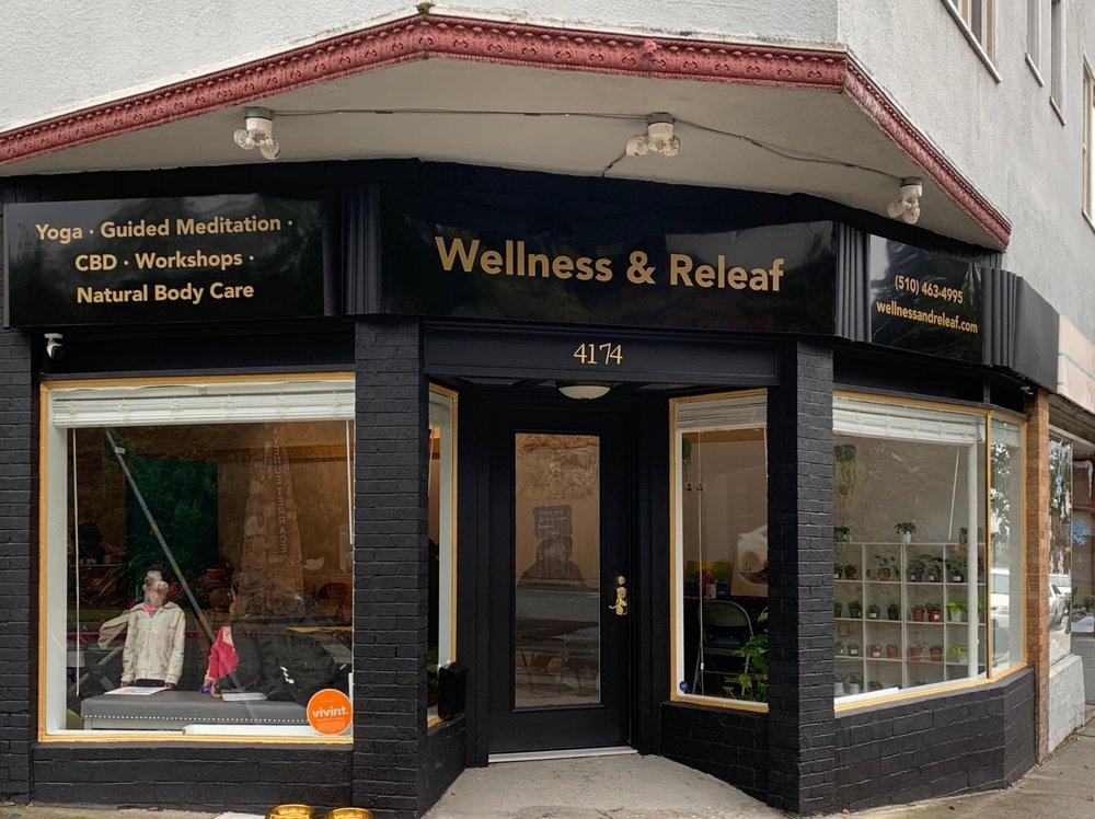 Wellness & Releaf: 4174 35th Ave, Oakland, CA
