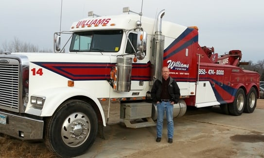 Towing business in Minnetrista, MN