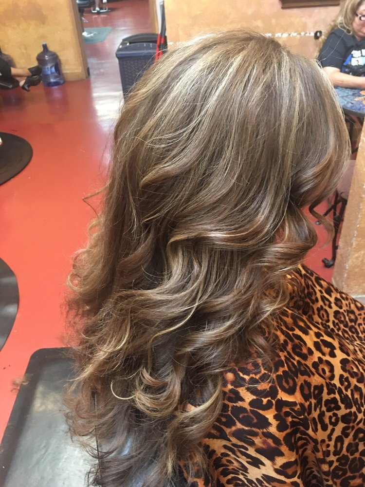 Blonde and brown highlights by carrie yelp for 2nd street salon