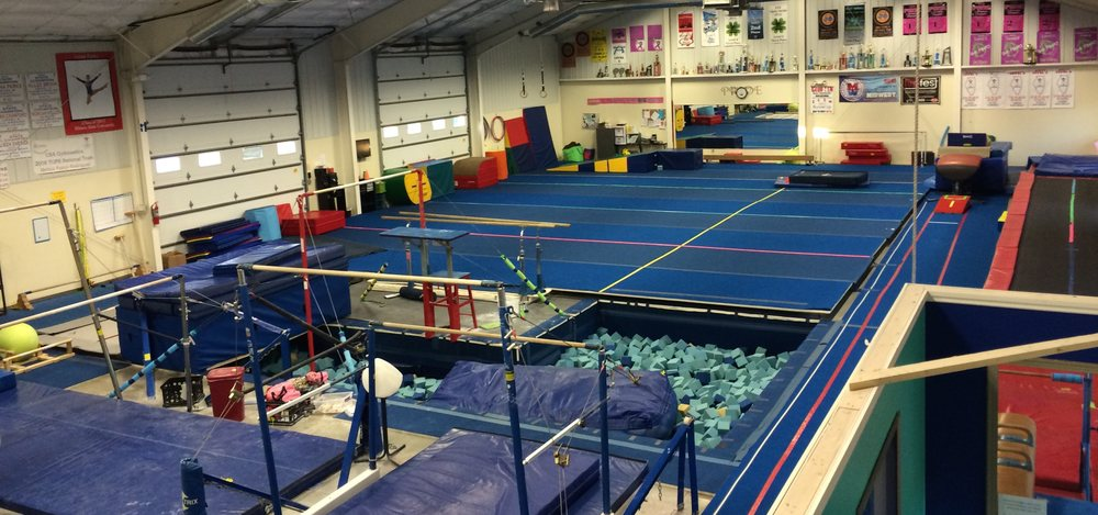 I-Power School of Gymnastics: 215 S Staley Rd, Champaign, IL