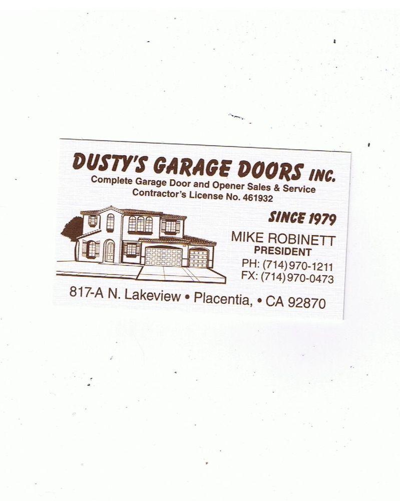 Dustys garage doors 11 reviews garage door services 817 s dustys garage doors 11 reviews garage door services 817 s lakeview ave placentia ca phone number yelp rubansaba