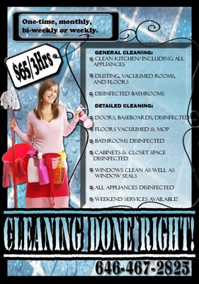 Alexandra S Cleaning Service Nyc Home Cleaning 1900 Ave W