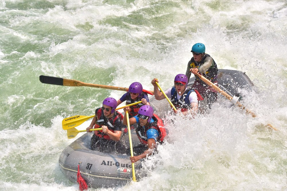 All-Outdoors California Whitewater Rafting: Walnut Creek, CA