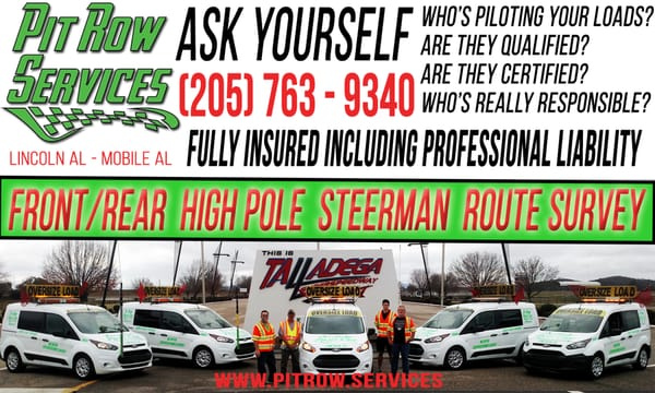 Pit Row Pilot Car Service - Get Quote - Auto Repair - 76030 Alabama ...