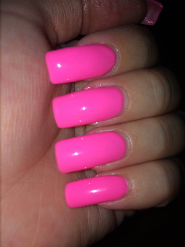 Perfect skinny square nails by Holly. - Yelp