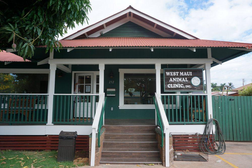 West Maui Animal Clinic: 232 Lahainaluna Road, Lahaina, HI
