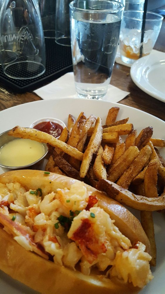 Lobster roll with french fries. Need I say more - Yelp