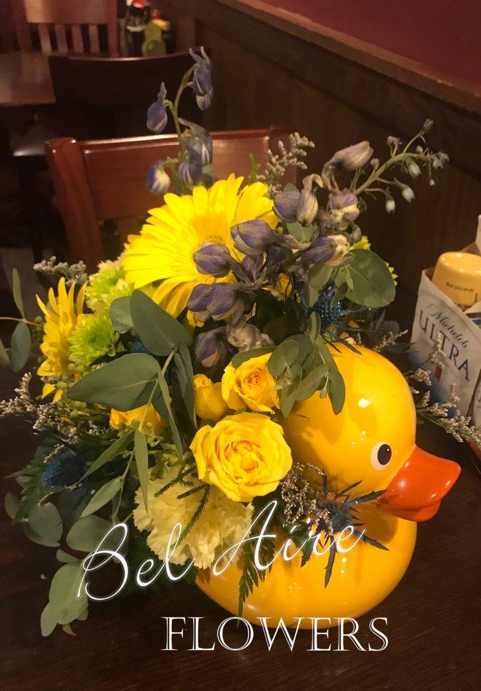 Baby boy shower arrangements rubber duck theme - Yelp
