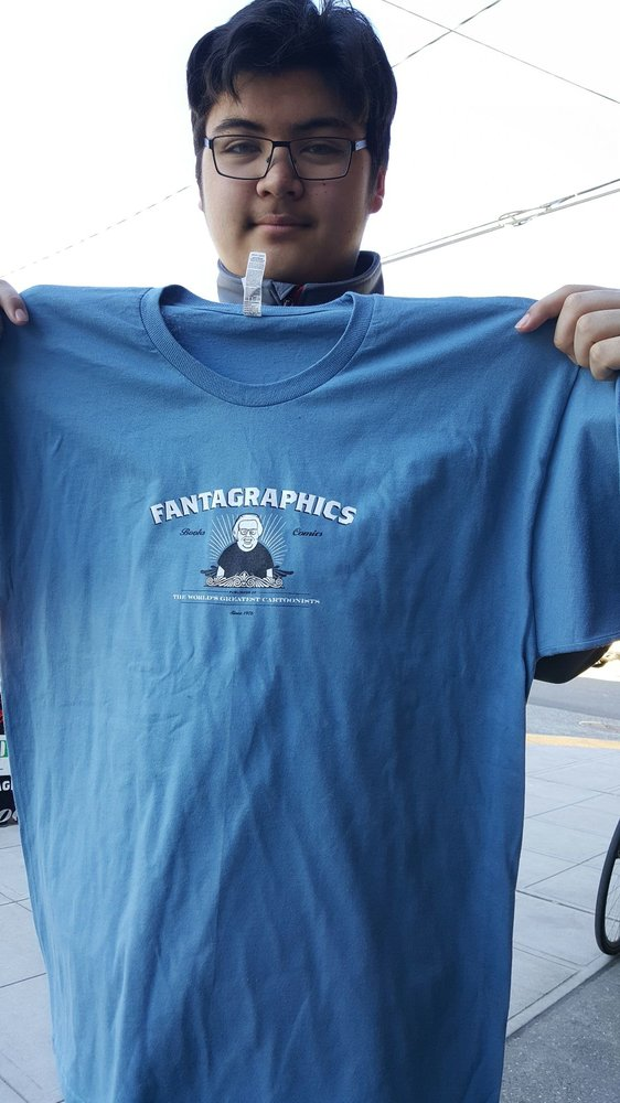 Fantagraphics Books: 1201 S Vale St, Seattle, WA
