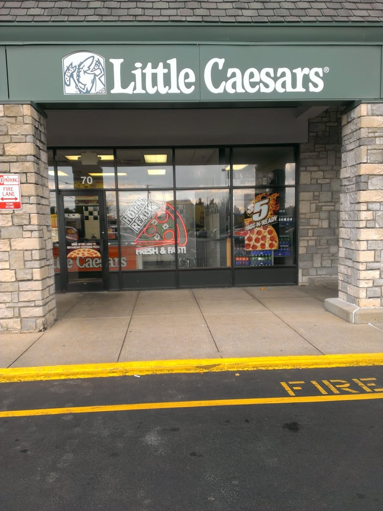 Visit Little Caesars Pizza online to find a pizza store nearest you. See our menu, order a carry out and learn more about franchise opportunities. Payment Options. American Express, Discover, Master Card, Visa Palomar Centre Dr Ste 70 Lexington Little Caesars MI.