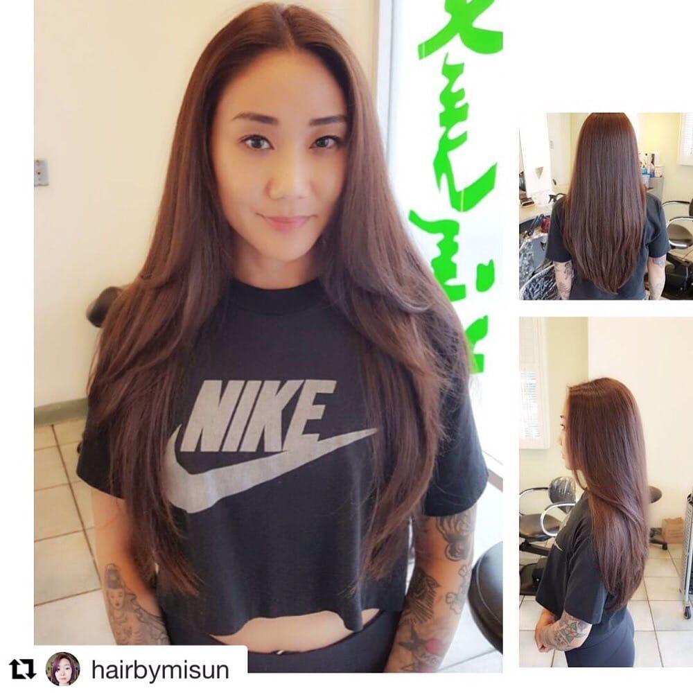 Hair Salon Los Angeles: Layered Cut By Misun