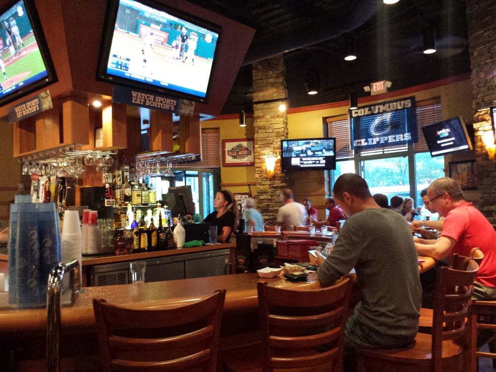 Boston S Restaurant Sports Bar Columbus Oh