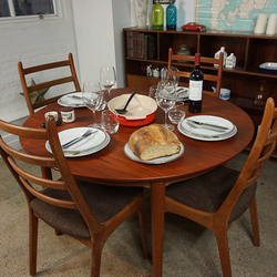 Photo Of Lanoba   Jersey City, NJ, United States. Elegant Round Dining Table