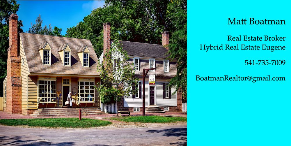 Matt Boatman - Hybrid Real Estate: 2445 Oakmont Way, Eugene, OR
