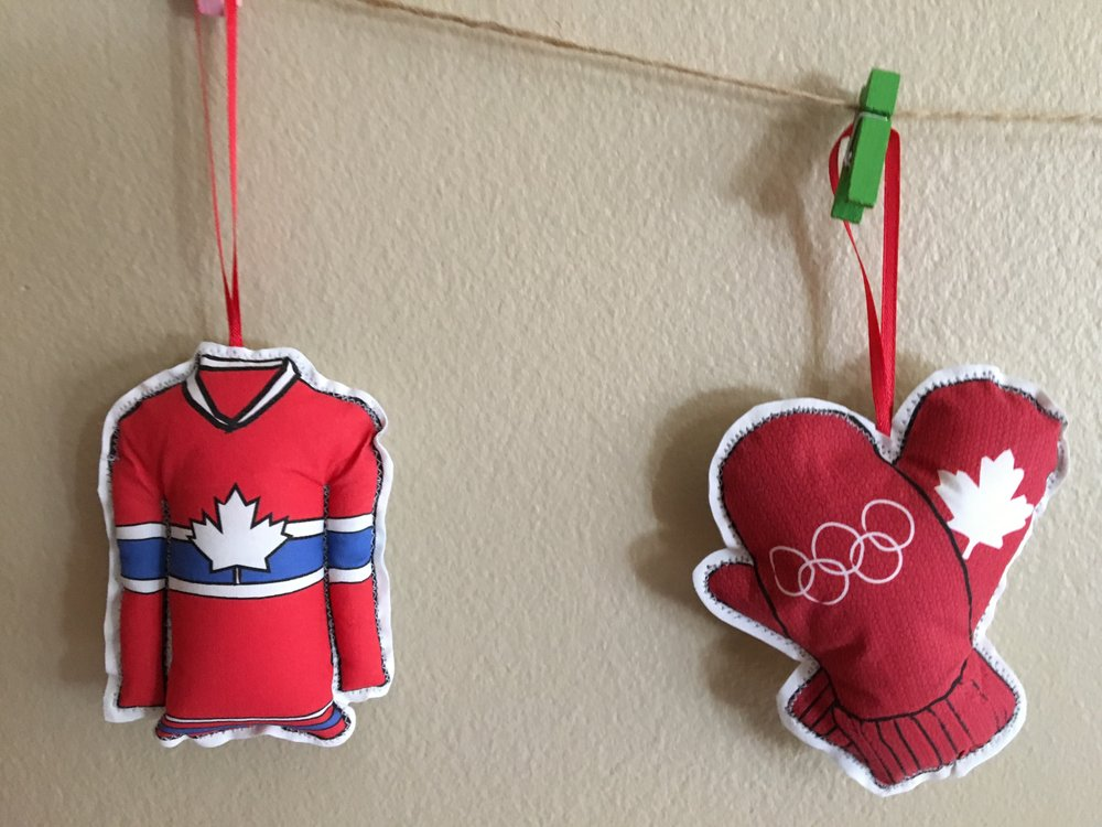 photo of creationz by catherine calgary ab canada french canadian christmas ornaments