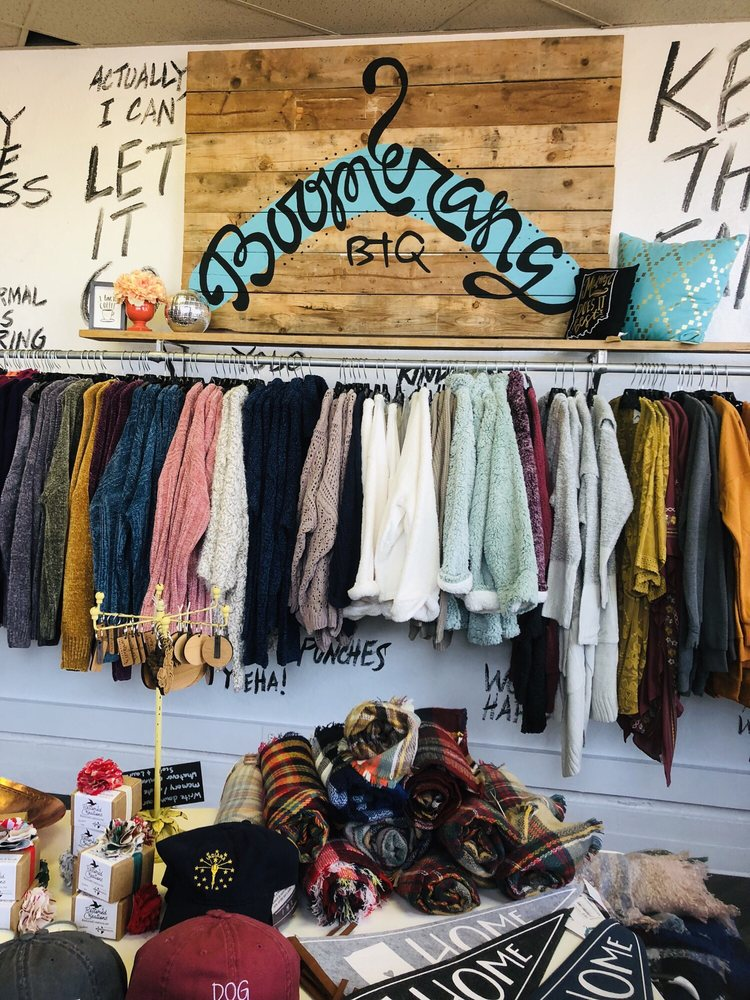 Boomerang Boutique: 845B Massachusetts Ave, Indianapolis, IN