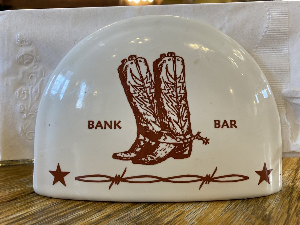 The Bank Bar & Vault Restaurant: 102 Elliot St N, Wilsall, MT