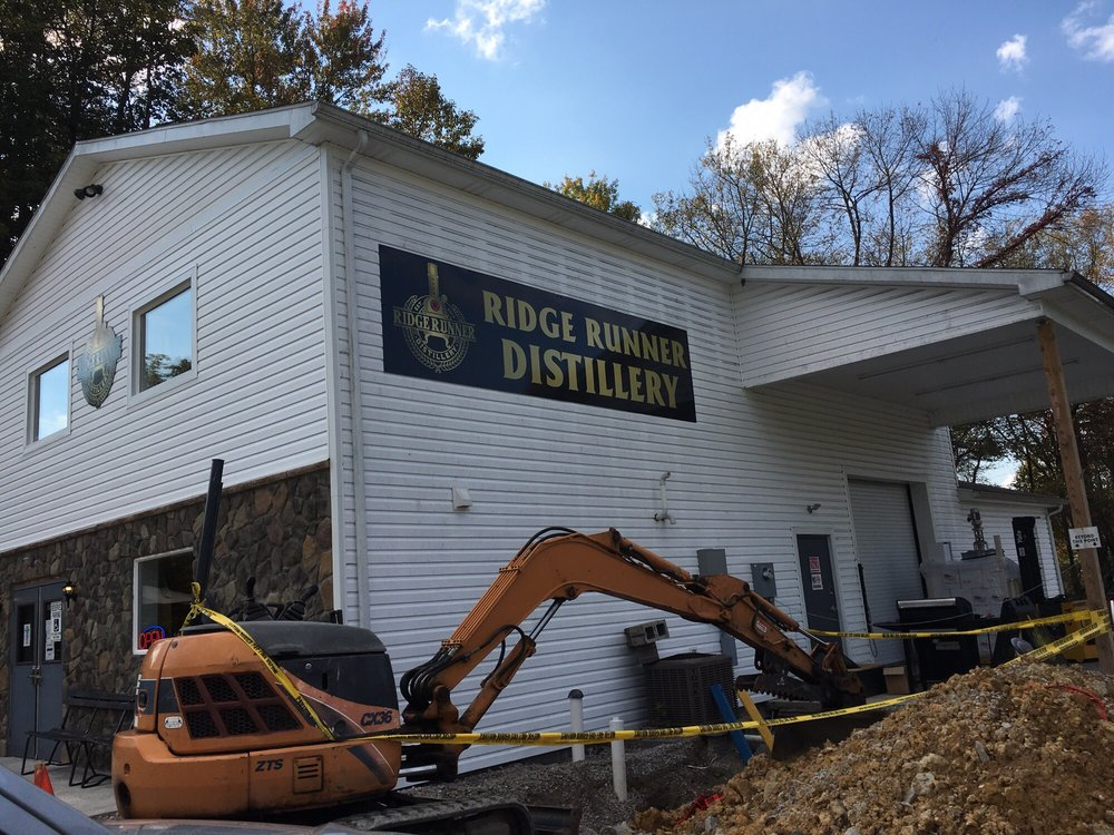 Ridge Runner Distillery: 417 Fayette Springs Rd, Chalk Hill, PA