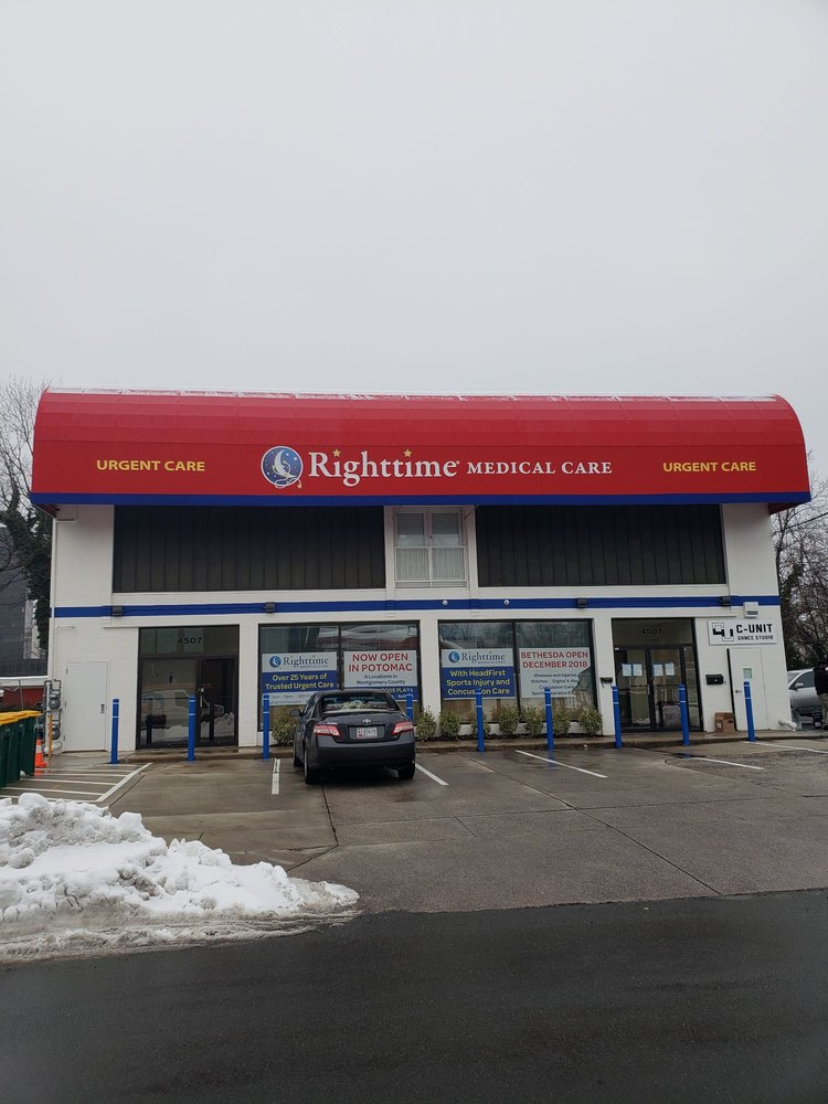 Righttime Medical Care: 4507 Stanford St, Bethesda, MD