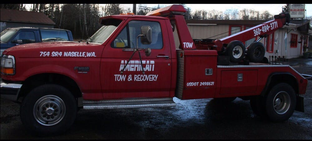 American Tow & Recovery: 754 SR4, Naselle, WA