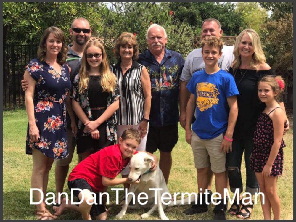 Dan Dan The Termite Man: Exeter, CA