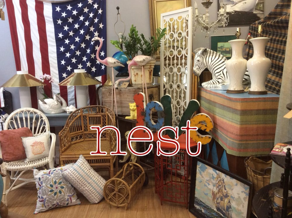 Nest Of Delray Antiques Used Furniture Stores Vintage Consignment 817 Ne 6th Ave Delray