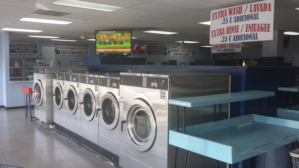 Homestead Coin Laundry: 1427 N Krome Ave, Homestead, FL