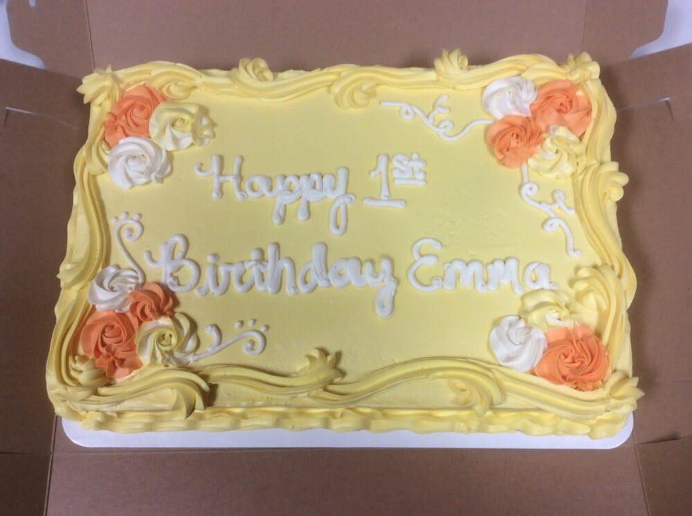 12 Sheet 1st Birthday Cake Yelp