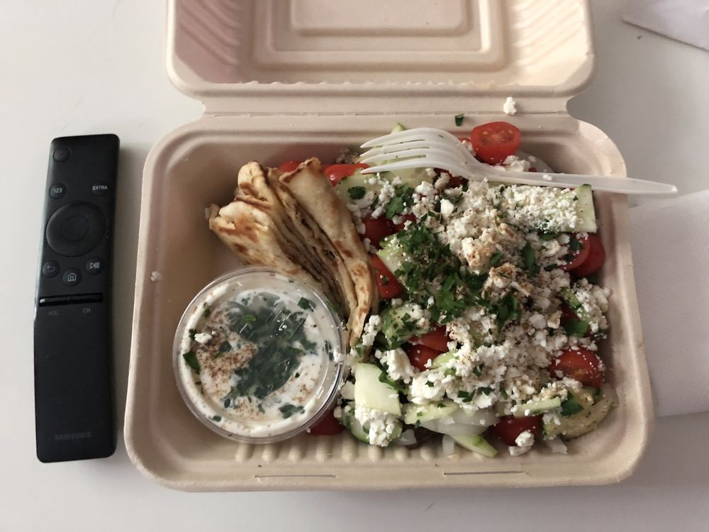 Angelina's Greek Gyros: 112 NW Couch St, Portland, OR