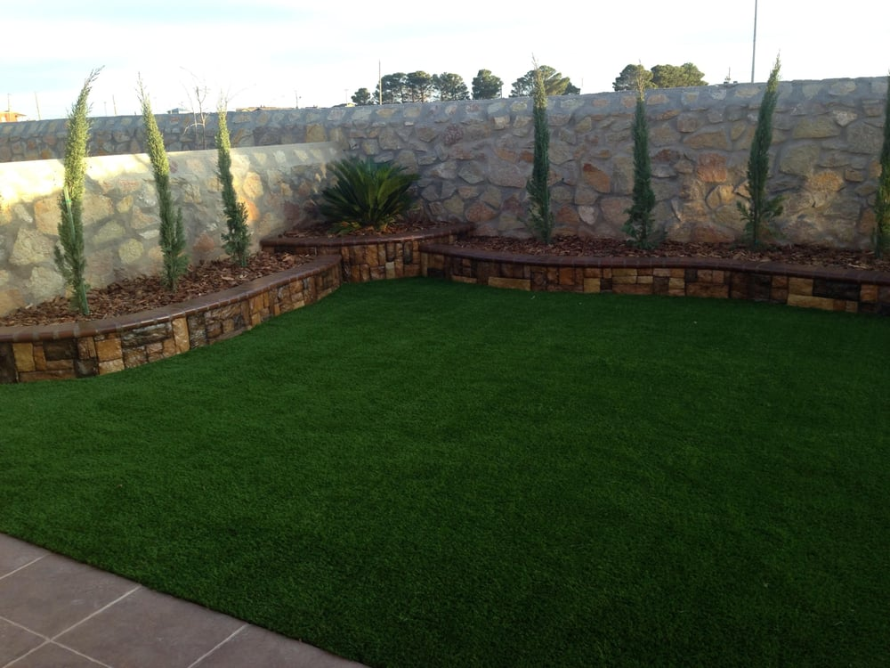 Artificial Grass Retaining Walls Yelp