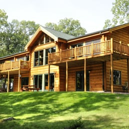 Photo Of Brio Design Homes   Madison, WI, United States. Log Style Home
