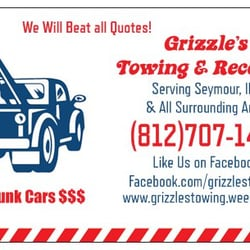 Towing Quote Entrancing Grizzle's Towing And Recovery  Get Quote  Towing  109 N