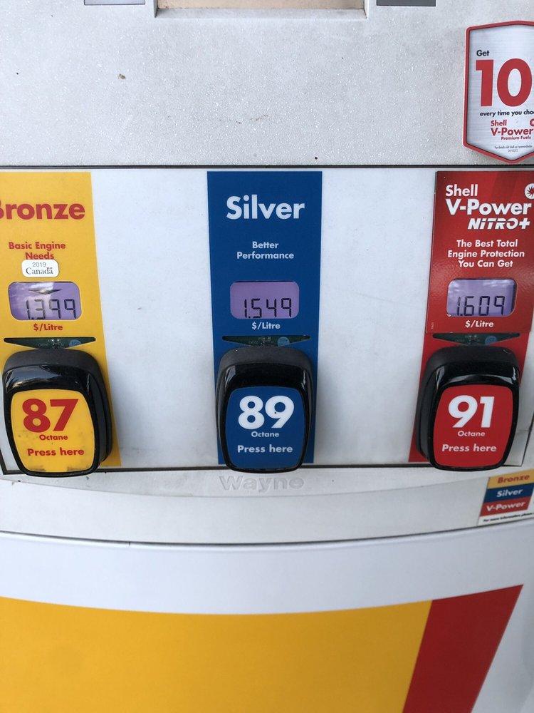 Shell Gas: 2061 Whatcom Rd, Abbotsford, BC