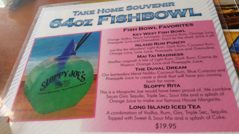 Fish bowls here yelp for Fish bowl drinks near me