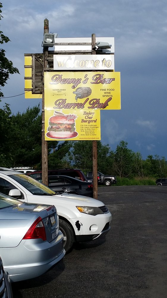 Denny's Beer Barrel Pub: 1452 Woodland Rd, Clearfield, PA