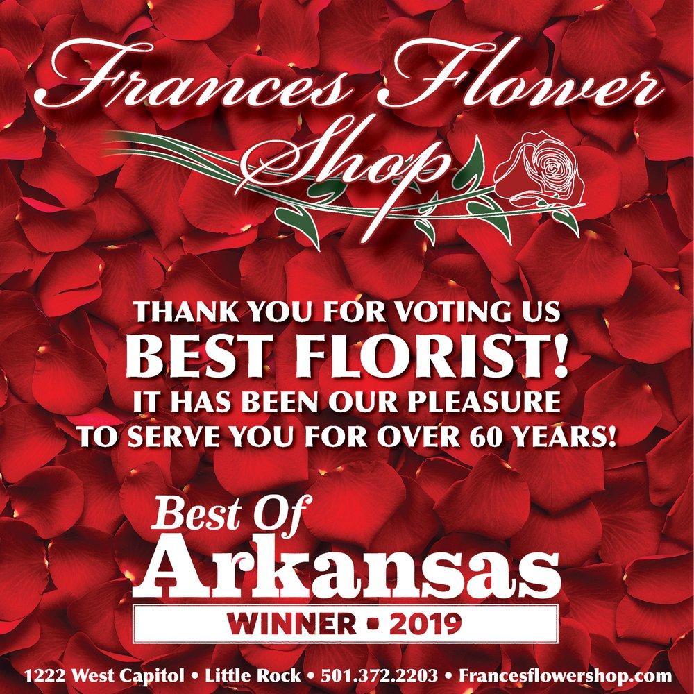 Frances Flower Shop: 1222 W Capitol Ave, Little Rock, AR
