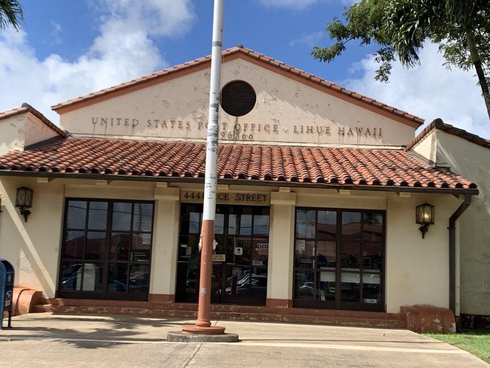 US Post Office: 4441 Rice St, Lihue, HI