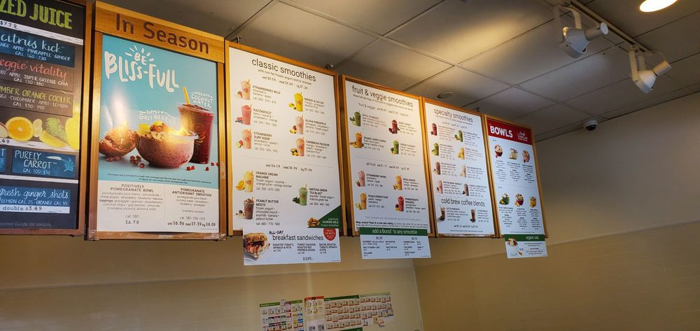 Jamba Juice - 851 Cherry Ave, San Bruno, CA - 2019 All You