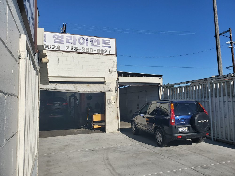 Olympic Wheel Alignment & Autocare: 1641 Venice Blvd, Los Angeles, CA
