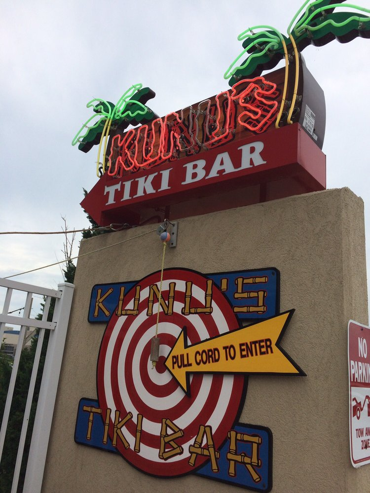 Kunu's Tiki Bar: 4301 Coastal Hwy, Ocean City, MD