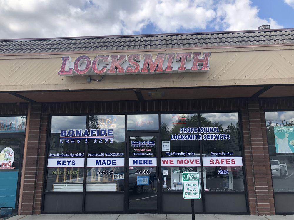 Bonafide Lock & Safe: 1025 NW Gilman Blvd, Issaquah, WA